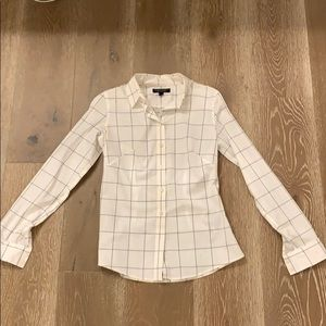 Banana Republic non-iron fitted shirt